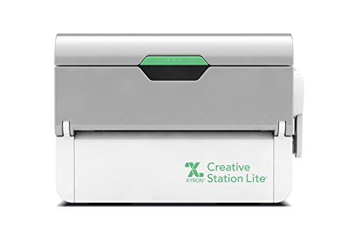 """Xyron Creative Station Lite, 3"""" or 5"""", Label Maker, Makes Invitations, Handmade Cards, Die Cuts Craft Projects, DIY Craft Supplies, Perfect for Home School Projects & Home Office Accessories (624740)"""