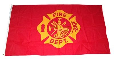 Fahne / Flagge Feuerwehr NEU 90 x 150 cm Flaggen [Misc.]