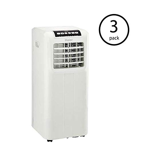 Haier Portable 8,000 BTU AC Window Air Conditioner Unit Remote & Remote (3 Pack)