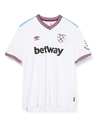 Umbro Herren West Ham Away S/S Jersey, Kit, L