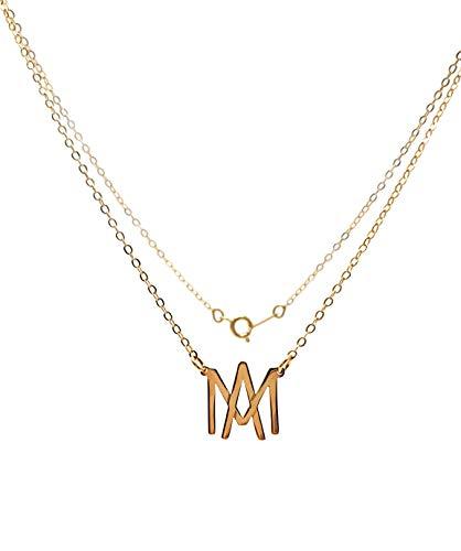 Collar Águilas de Mexicali – Chapa Oro 22k – Elegantia Jewelry