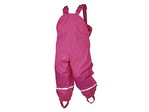lupilu Kleinkinder Matschhose Regenhose Buddelhose Pink in verschiedenen Größen für Mädchen (86/92)