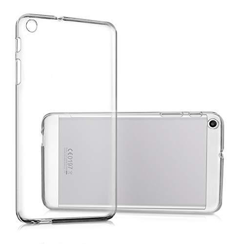 kwmobile Huawei MediaPad T1 7.0 Hülle - Silikon Tablet Cover Case Schutzhülle für Huawei MediaPad T1 7.0 - Transparent - 5