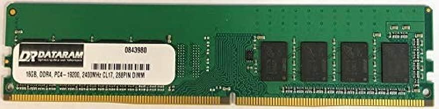 DATARAM 16GB DDR4 PC4-2400 DIMM Memory RAM Compatible with GIGABYTE GA-Z270-GAMING K3