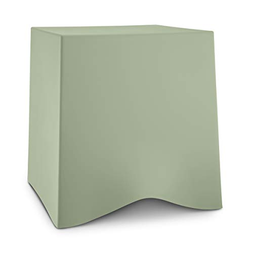Koziol BRIQ kruk, eucalyptus green, thermoplastisch kunststof, 428x406x416mm