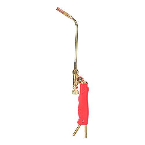 H01-2 Soldadura, H01-2 Mini antorcha de soldadura de gas Antorcha de corte de soldadura de oxígeno tipo inyección de latón 30 cm
