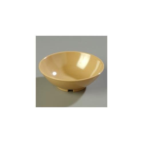6.5' Round Salad Bowl w/ 20 oz Capacity, Melamine, Maple