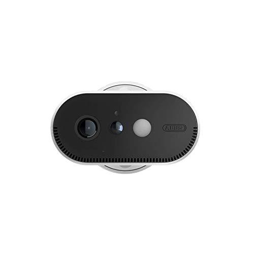 ABUS Akku-Überwachungskamera PPIC90520 WLAN HD Kamera für Innen und Außen - Nachtsicht - 120 Grad Blickwinkel - 100 {49ee4916e1558ca2ca7d5d7ee2414126fe811d8b3107e37f8d31c686db4317c5} kabellos - weiß - 87916