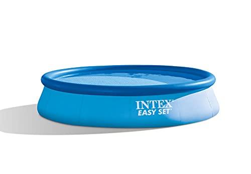 Intex Easy Set–Above Ground Pools (Round, Blue)