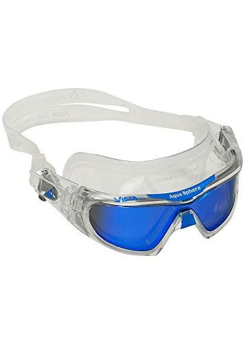 Aqua Sphere Vista Pro - transparent/blau titanium verspiegeltes Glas Schwimmbrille