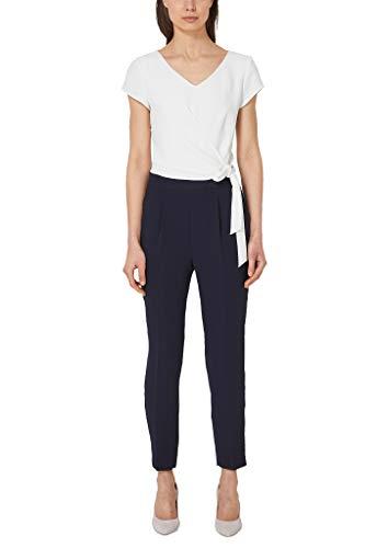 s.Oliver BLACK LABEL Damen 11.904.85.5520 Jumpsuit, Blau (True Blue 5959), (Herstellergröße: 38)