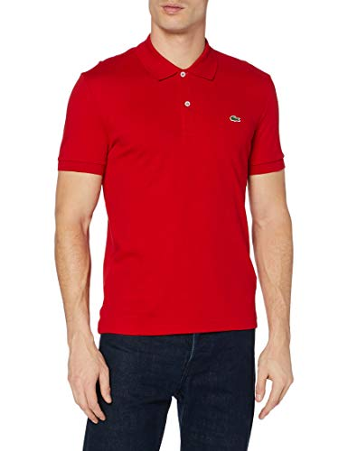 Lacoste DH2050 Polo, Rosso (Rouge), Small (Taglia Produttore: 3) Uomo