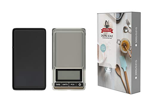 Digitale weegschaal 0.01 x 500 gram/Kleine keukenweegschaal/Precisie weegschaal/Grammen weegschaal/Mini weegschaal/Micro weegschaal