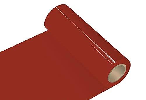 INDIGOS UG Oracal 651 - Orafol glänzend - Glanz - für Küchenschränke und Dekoration Folie 5m (Laufmeter) - 315 cm Folienhöhe - 30 - dunkelrot glänzend Autobeschriftung Wandschutzfolie Möbel Aufkleber