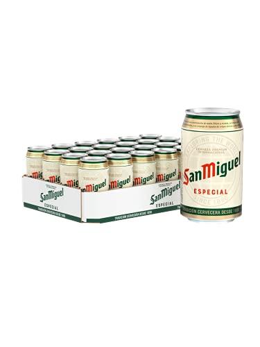 San Miguel Especial Dose DPG Bierpaket,...