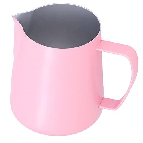 Kubek do spieniania mleka do kawy 400ml, dzbanek do spieniania mleka ze stali nierdzewnej z dziobem orła wylewka akcesoria do ekspresu do kawy dla Home Cafe