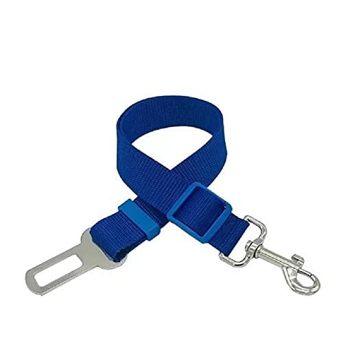 BXing Pet Dog Cat Cinturón de Seguridad de Coche Nylon Pequeño Mediano Perros Grandes Cuerda de tracción Viaje Desmontable Collar para Mascotas Correa