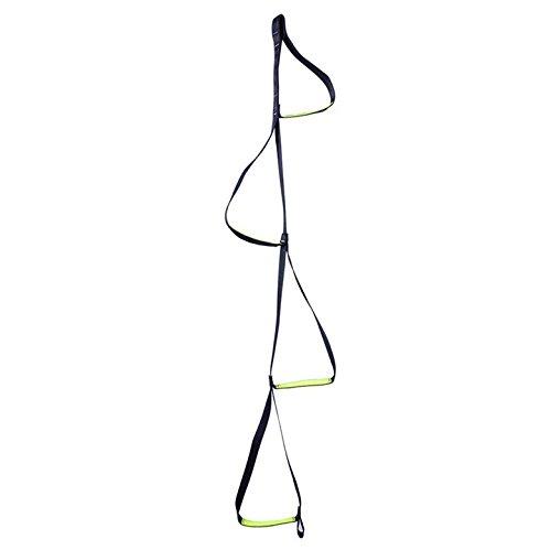 Ceinture plate/échelle de corde à suspendre Échelle Pied Échelle/extérieur Corde échelles échelles