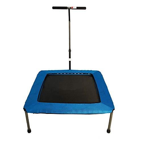 HLX Trampoline, Vrije tijd trampoline, Volwassen Kinderen Binnen En Outdoor Trampoline, Opvouwbare Fitness Trampoline, Vierbenige Stille Sport Bounce Bed Met Armleuningen