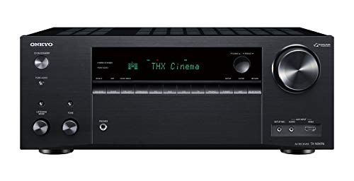 Onkyo TX-NR696(B) Receptor AV 7.2 (Sonido THX Cinema, Dolby/DTS:X, Wifi, Bluetooth, streaming, Apps de música, Spotify, Deezer, radio, Multiroom, 175 W/canal), negro