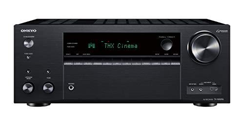 Onkyo TX-NR696(B) 7.2 Kanal AV Receiver (THX Kinoklang, Dolby/DTS:X, WLAN, Bluetooth, Streaming, Musik Apps, Spotify, Deezer, Radio, Multiroom, 175W/kanal) schwarz