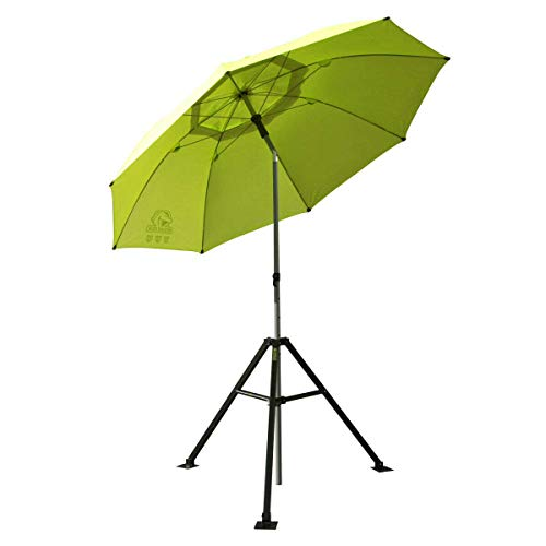Revco UB-250-Yellow Ub-250 Black Stallion Flame Retardant Umbrella w/Stand