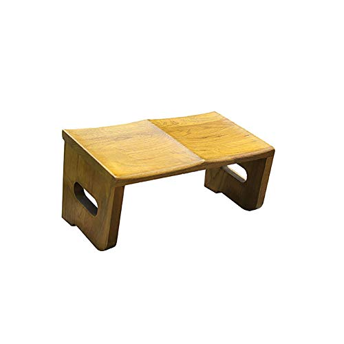 JIAHATE Prayer Stool,Strong Wooden Elm Bench,The Original Kneeling Stool, Posture Certified, Best Chair Also Used for Tea Ceremony, Seiza,Yoga, Praying and Healthier Sitting