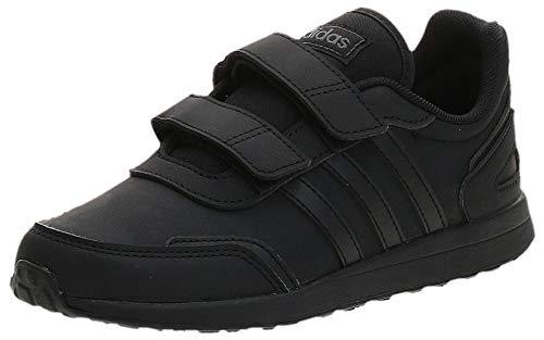 adidas VS Switch 3 Sneaker, Core Black/Core Black/Core Black, 35 EU