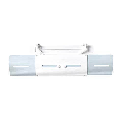 QHJ Deflectores de aire acondicionado portátil con protección contra viento frío, deflectores de gas antisoplado directo, enfriador de aire portátil, para casa, oficina, dormitorio, viaje