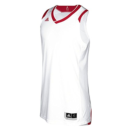 adidas Crazy Explosive Jersey S White-Power Red