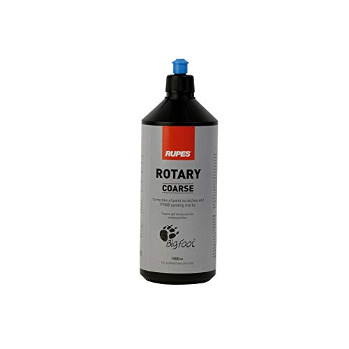 RUPES BIGFOOT COARSE (GROB)- Auto Politur Blau - 1000 ml für Rotations Maschine