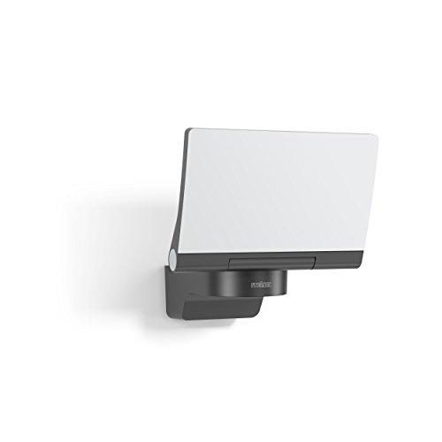 Steinel LED-Strahler XLED Home 2 Slave graphit, 13 W Flutlicht, voll schwenkbar, 1443 lm, für Einfahrt, Hof und Garten