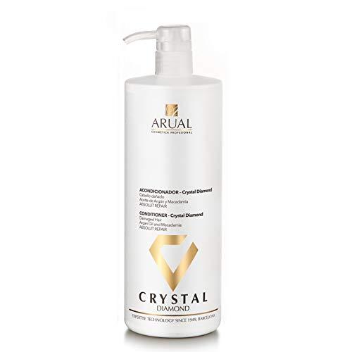ARUAL ACONDICIONADOR Crystal Diamond 1000ML, Negro, 1000 ml, 2