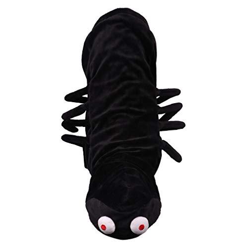 Sylar Disfraces De Mascotas De Halloween, Disfraz De Perro De Halloween De Araña Disfraz De Halloween De Araña De Halloween Transformada Ropa para Mascotas Negro