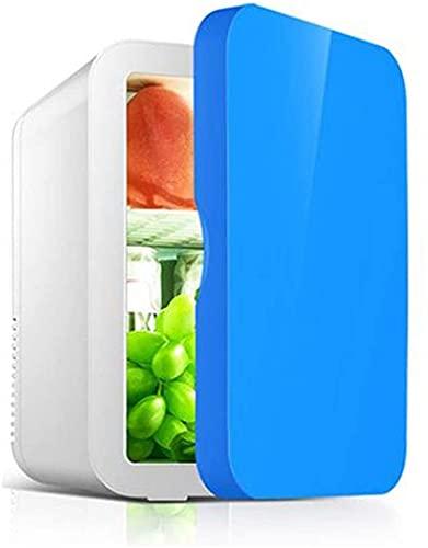 SONG Tragbarer Mini-Kühlschrank, Auto-Mini-Kühlschrank im Freien stumm Niedlichen Juggernog Mini-Kühlschrank (Color : Blue)