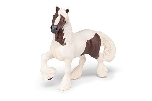 Papo 51513 Pferde, FOHLEN UND PONYS Irish Cob rotbraun, Mehrfarben