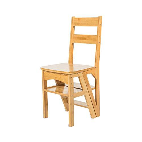 QIDI Étape Tabouret Étagère Pliant Échelle Chaises des Places Arrière Escaliers 4 Étage (Couleur : T1)