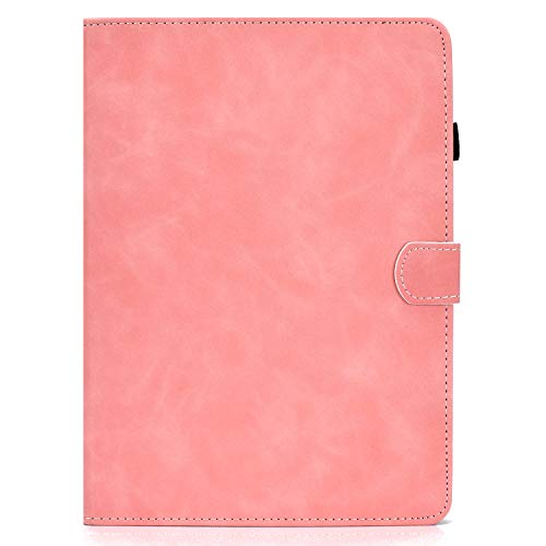 Unichthy Case For Samsung Galaxy Tab S6 Lite 10.4 Inch Tablet 2020 Release Model SM-P610 (Wi-Fi) SM-P615 (LTE) Official Case Shockproof Anti-slip Stand Card Slots Cover 2020 Rose Gold