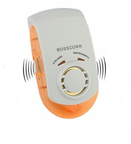 Baiteng Rechazo de plagas Repelente electromagnético ultrasónico Anti Repelente de Mosquitos Rechazo de Ratones Arañas de Insectos, Control de Insectos UP-0001