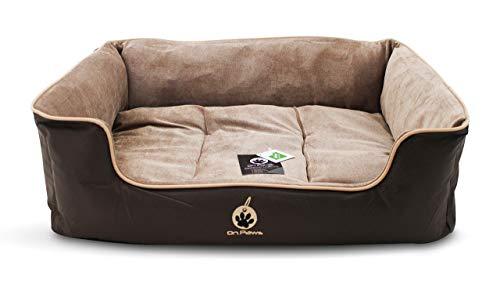 On Paws 'Sleep Well Lounger'Marron, Size L (80 x 65 cm)