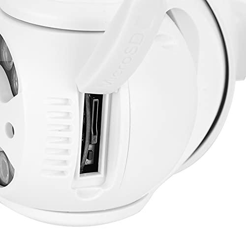 logozoee Telecamera di Sicurezza Esterna, CCTV Pan Tilt, Sistema di sorveglianza Professionale 1080P Impermeabile per Baby Room Indoor(Transl)