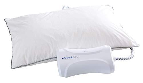 フランスベッド 枕 ホワイト いびき対策快眠枕シリーズ 快眠支援枕 いびきを感知してポンプが作動 スマホアプリ対応 シングル 360018000