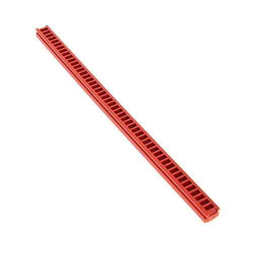 LEGO 1 x Technic Zahnstange rot 1x20 für Technik Winde Zahnrad Rack für Set M - Tron 6989 6394 2428