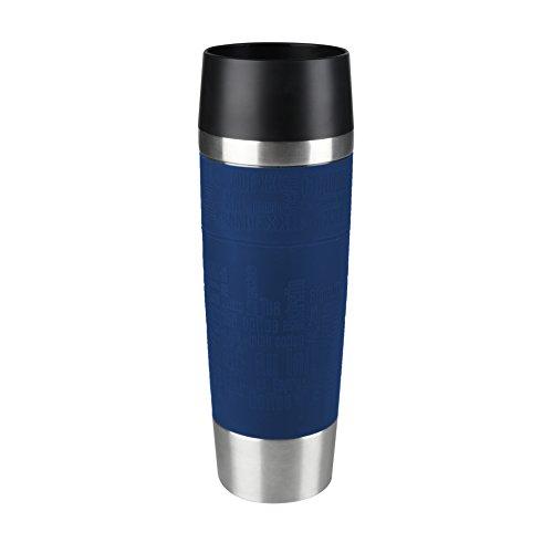 Tefal Reisebecher Grande Edelstahl, edelstahl, blau, 0.5 L