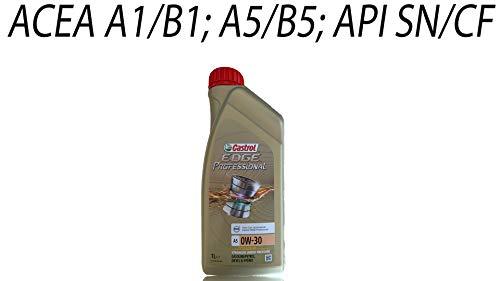 Castrol EDGE Professional 0W-30 A5 Aceite de Motores 1L