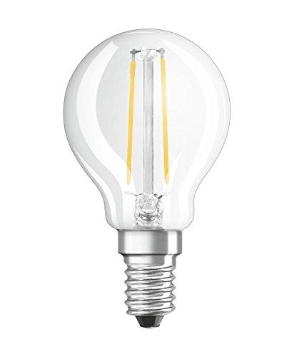 Osram Star Classic P Lampada LED E14, 1.1 W, Bianco, Confezione da 1