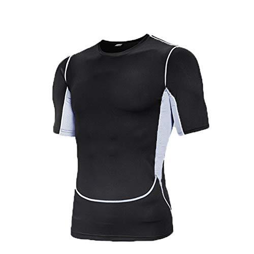 SSBZYES Camiseta De Fitness para Hombre Ropa De Fitness De Talla Grande para Hombre Camiseta De Manga Corta De Secado Rápido Transpirable De Tamaño Extragrande para Hombre Tendencia De Ropa Deportiva