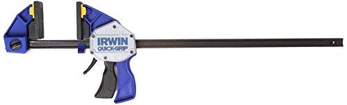 Irwin XP Einhand-Zwinge 600 mm, extrem Haltekraft 250 kg, Spreizfunktion, 10505945
