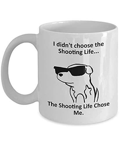 Tazza Magica Shooting Coffee Mug Tazza con Frase e Disegno Divertente Migliore Tazza In Ceramica Idee Regali Originali