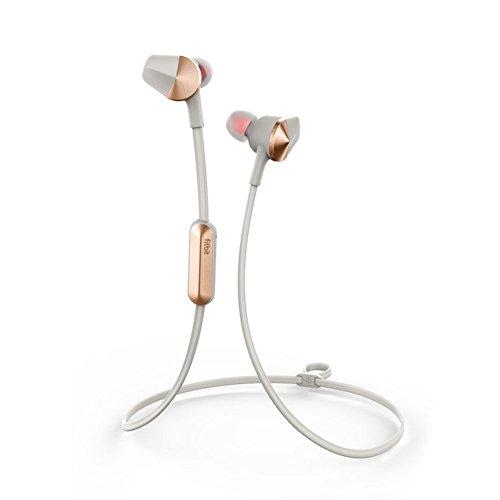 Fitbit Flyer im Ohr Binaural Verkabelt/Kabellos Gold - Grau Mobiles Headset, FB601GY